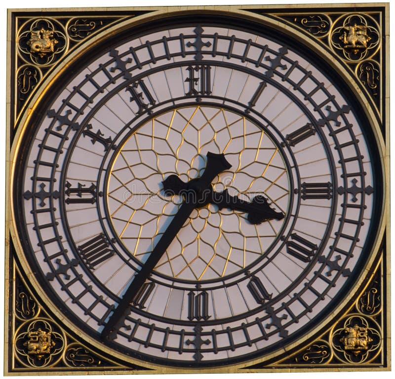 Big Ben Clock Face Royalty Free Stock Images