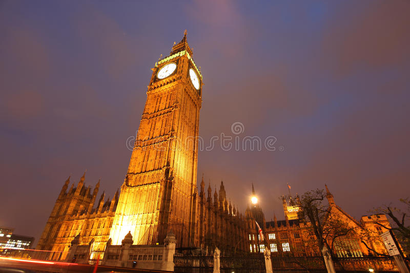 Download Big Ben clock tower stock photo. Image of famous, place - 21341646