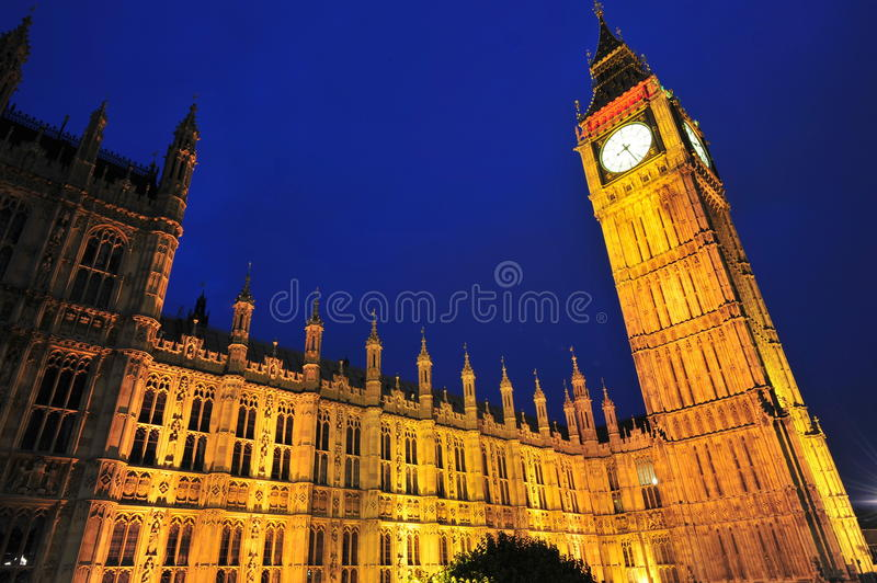 Big Ben - Clock Tower Stock Photo