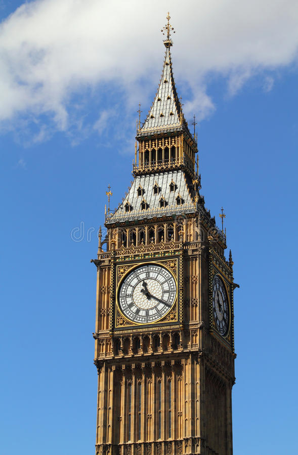 Download Big Ben clock tower stock photo. Image of tower, tourism - 27724282