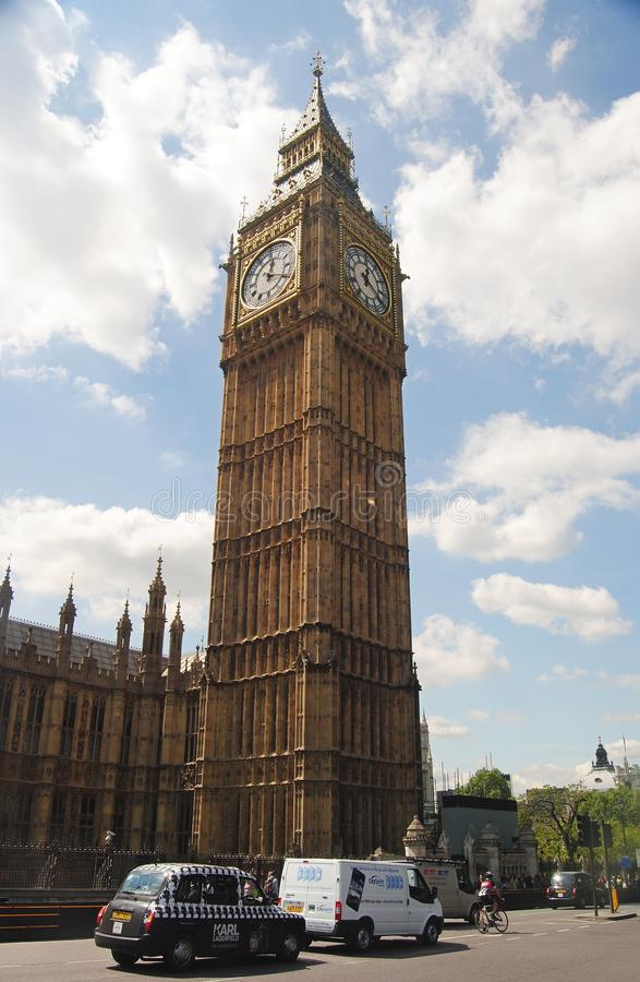 Big Ben clock tower in London. royalty free stock photos