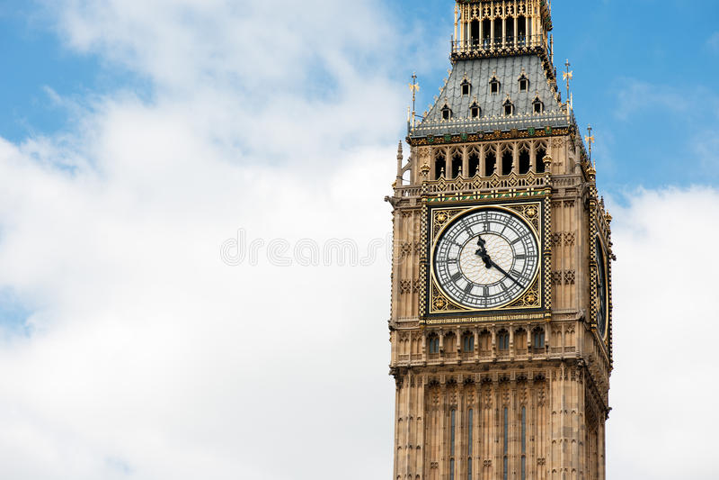 Download Big Ben Clocktower stock image. Image of cloud, english - 20860561
