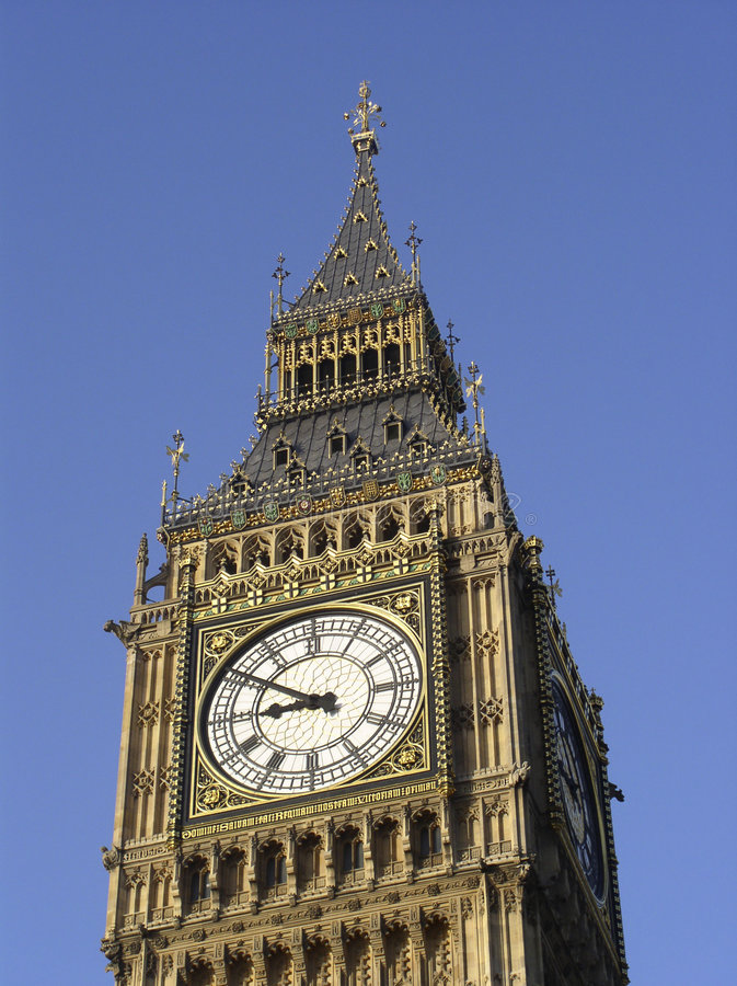 Big Ben close up stock image