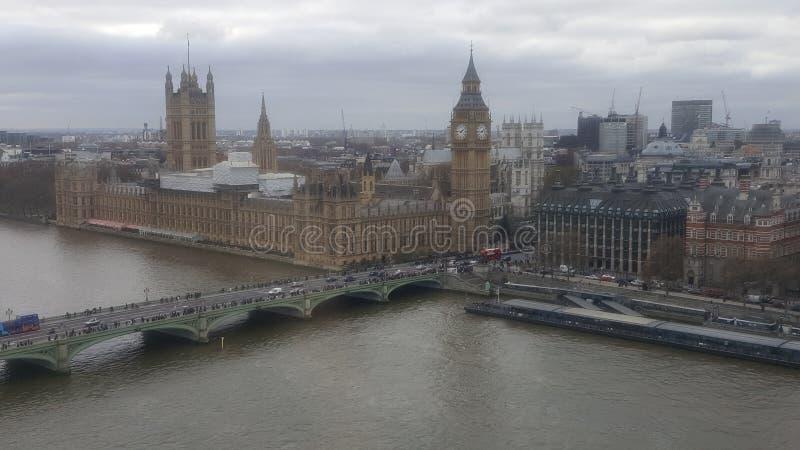 Big Ben da sopra fotografia stock