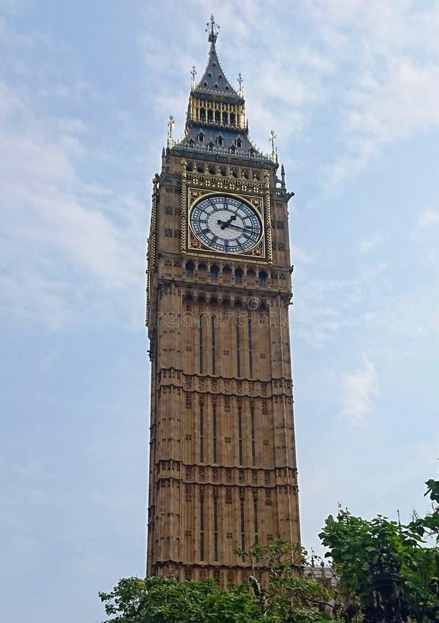 Big Ben in de stad van Londen stock foto's