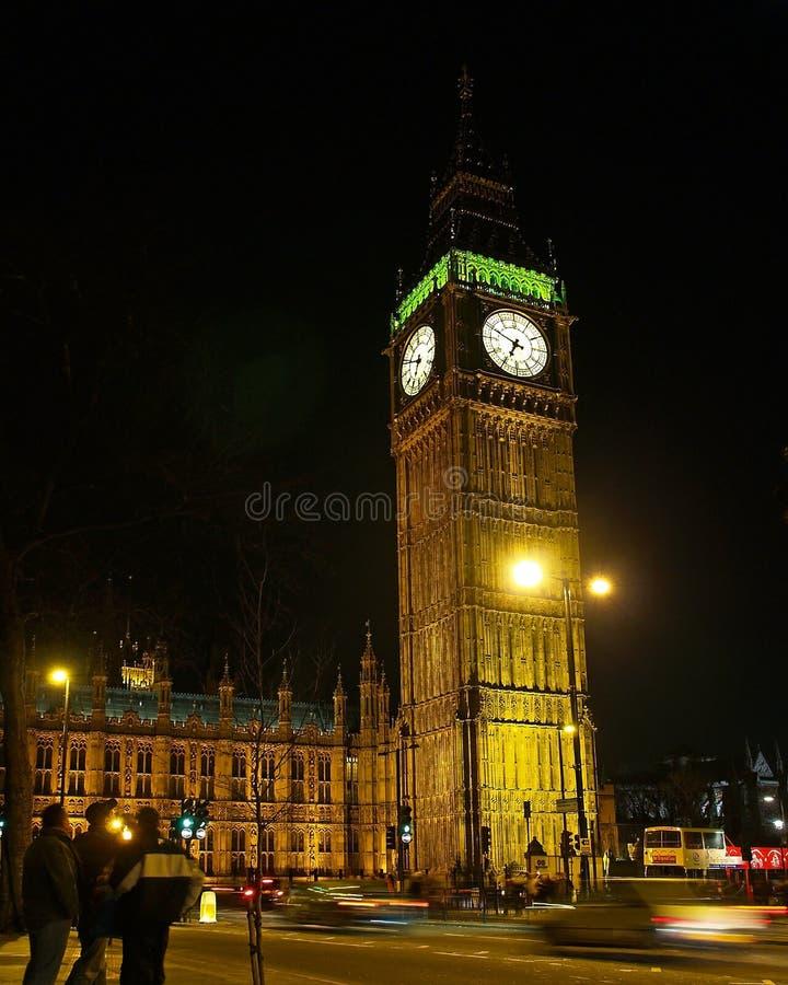 Big Ben in der London-Nachtansicht #2 stockbilder