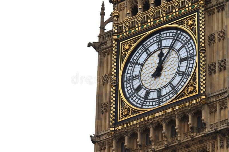 Big Ben Details, London, UK Royalty Free Stock Images