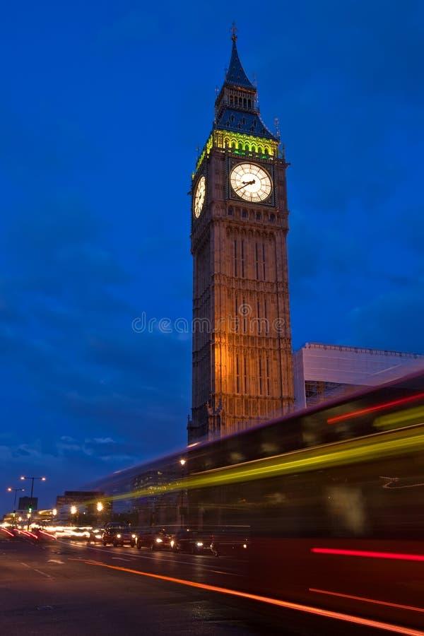 Big Ben At Dusk Stock Image