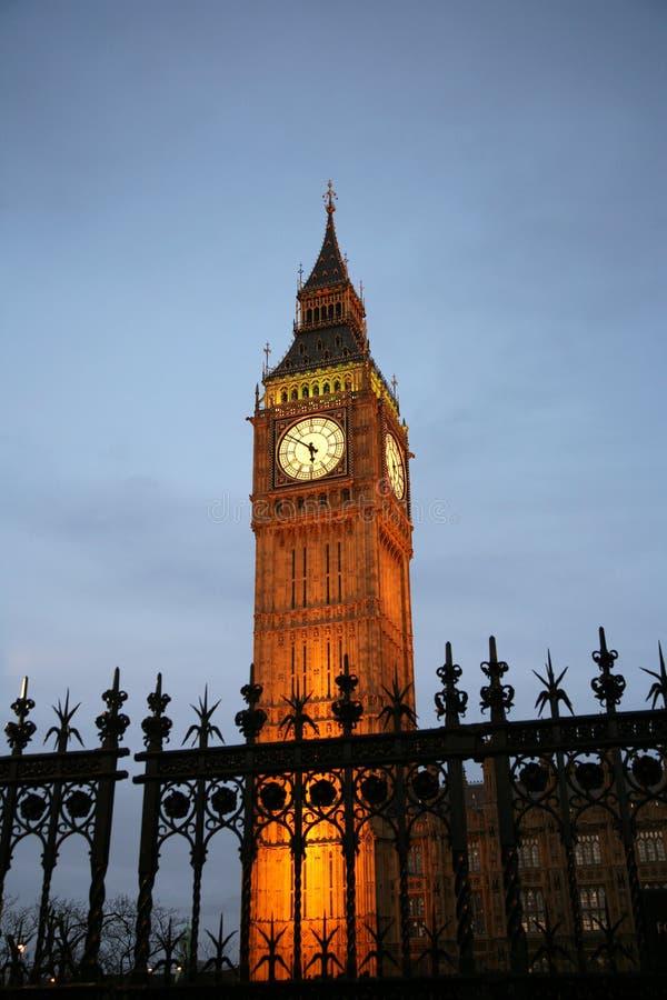 Download Big Ben at dusk stock image. Image of city, westminster - 20749275