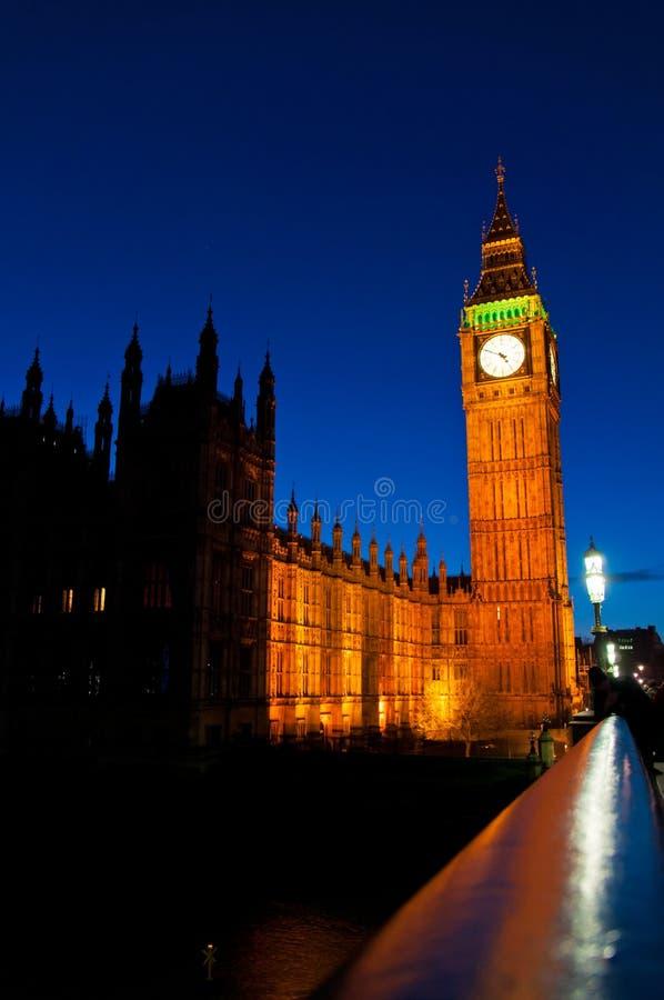 Big Ben e abadia de Westminster fotos de stock