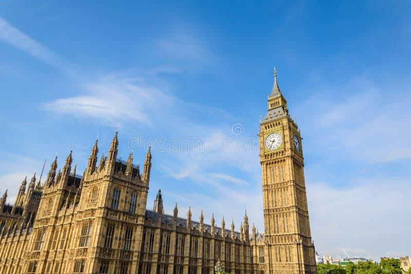 Big Ben e casa do parlamento, Londres, Reino Unido fotos de stock