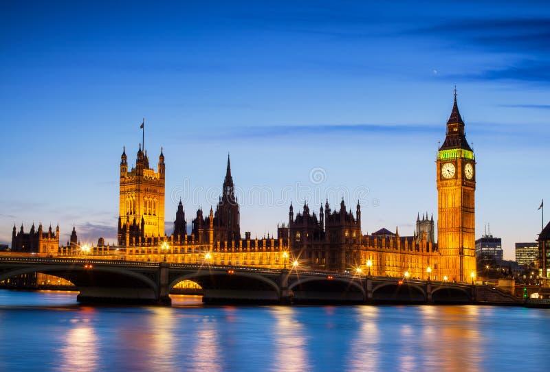 Big Ben e casas do parlamento, Londres, Reino Unido foto de stock