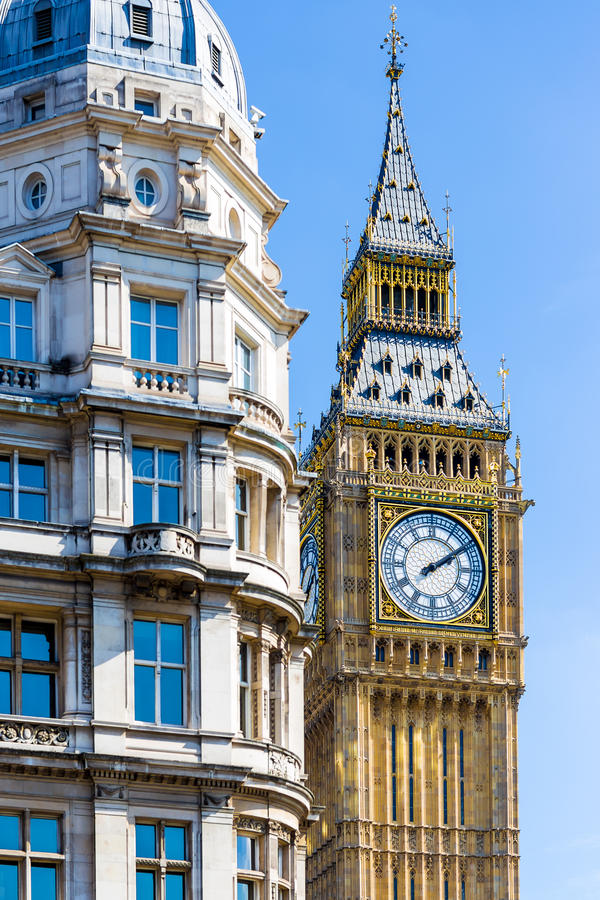 Big Ben en été, Londres images stock