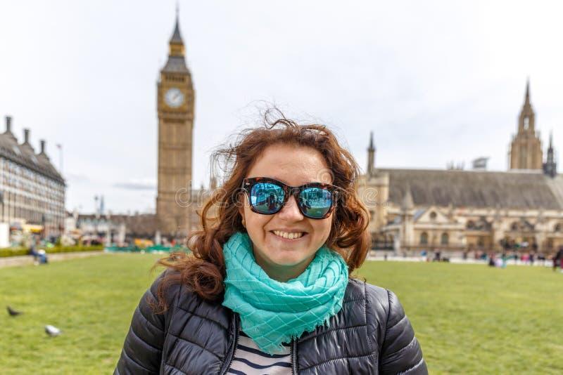 Big Ben en Westminster in de lente stock fotografie