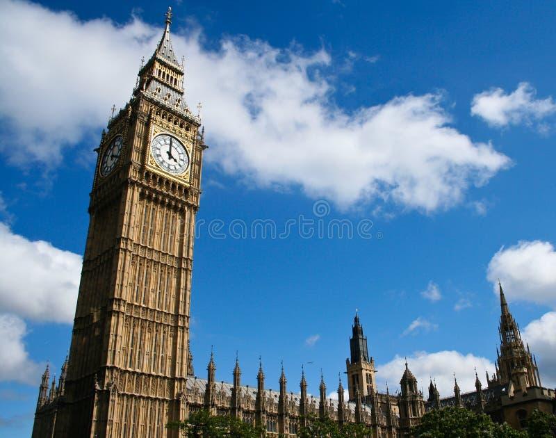Big Ben et le parlement images stock
