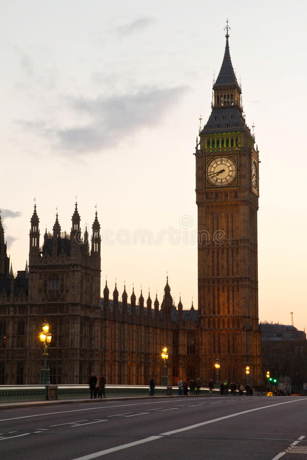 Download Big ben evening stock image. Image of culture, gothic - 26014097
