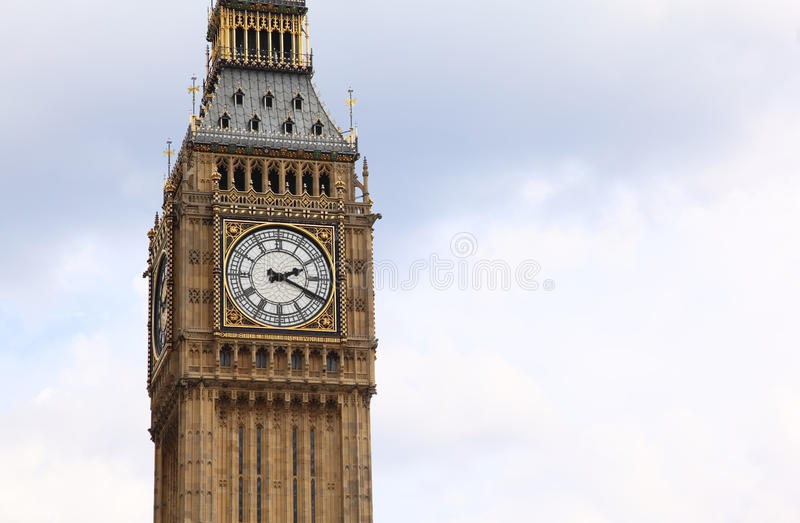Big Ben is a famous English clock chimes