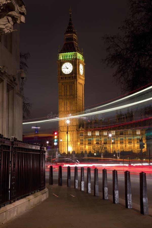 Big Ben (Häuser des Parlaments) in London lizenzfreies stockbild