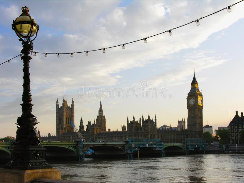 Big Ben and House of Parliamen royalty free stock photography
