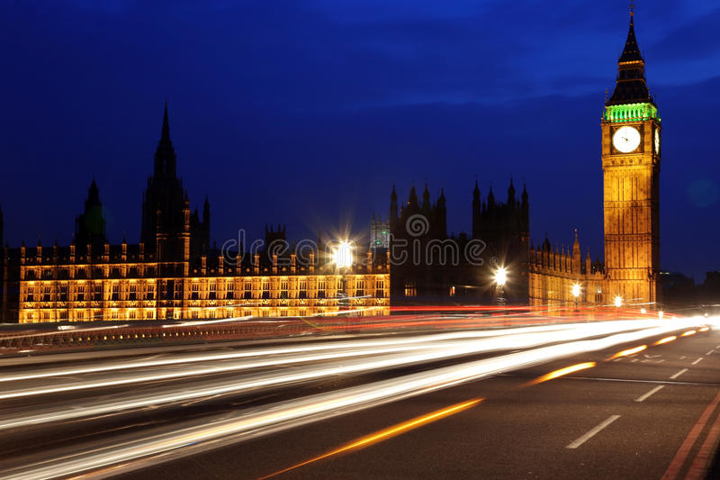Big Ben And The House Of Parliament Royalty Free Stock Photos