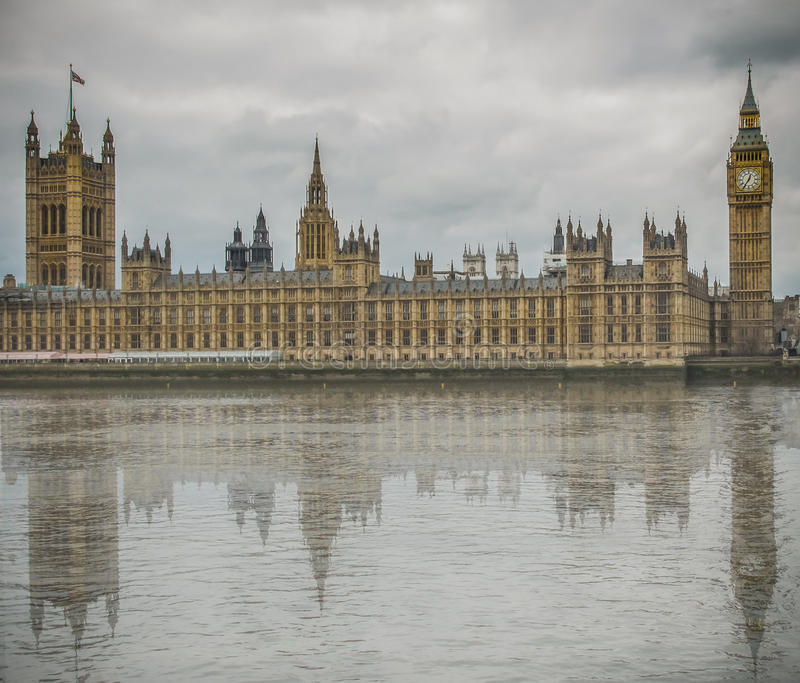 Big Ben, House of Parliament royalty free stock images