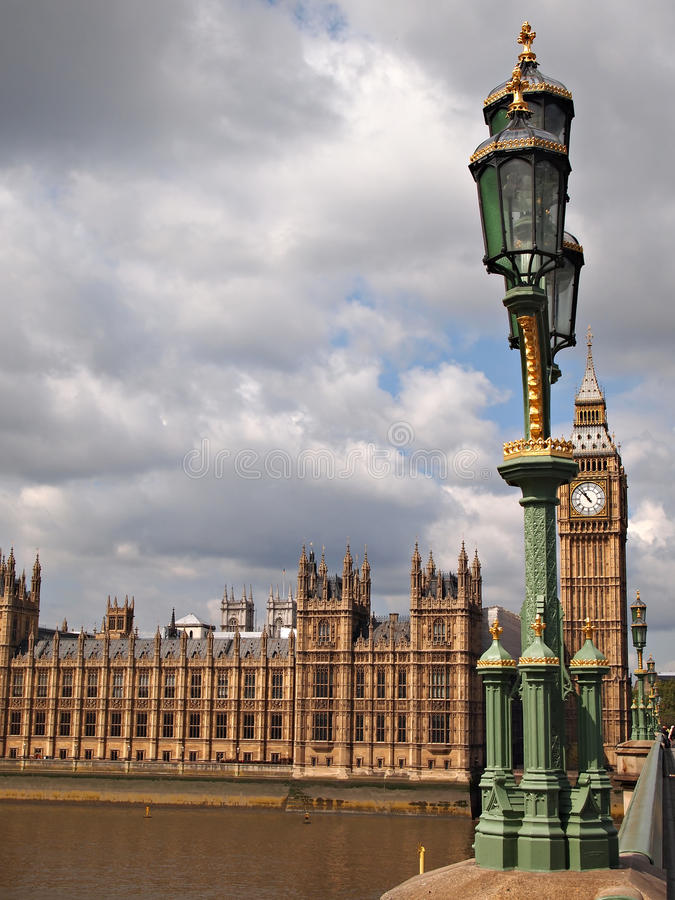 Download Big Ben And Houses Of Parliament In London Stock Image - Image: 24081309