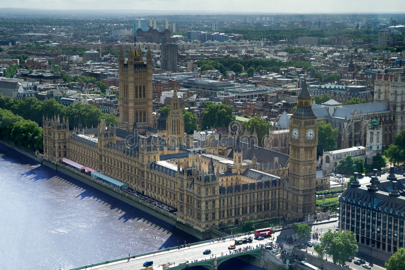 Download Big Ben And The Houses Of Parliament, London Stock Image - Image: 6393697