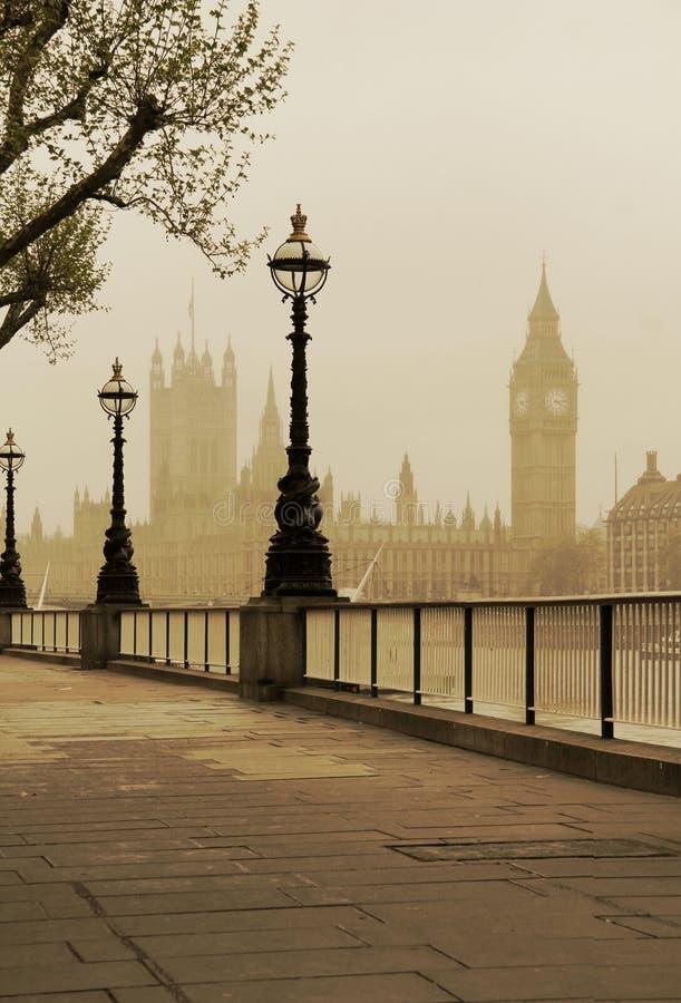 Big Ben & Houses of Parliament stock image