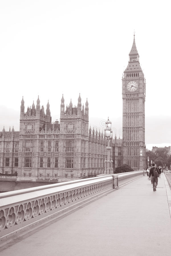 Download Big Ben And Houses Of Parliament From Westminster Bridge; London Stock Photo - Image: 28253706