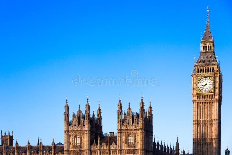 Big Ben i centrala London royaltyfri bild