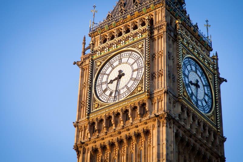 Big Ben i centrala London royaltyfri fotografi