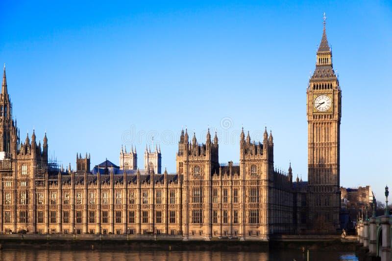 Big Ben i centrala London royaltyfria bilder
