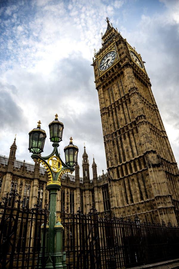 Big Ben i latarnia w Londyn fotografia stock