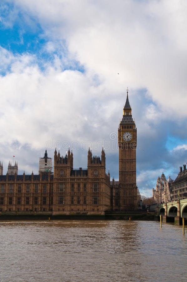 Big Ben i opactwo abbey obraz royalty free