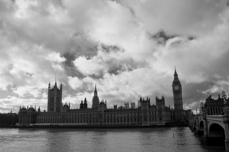 Big Ben i opactwo abbey zdjęcia royalty free