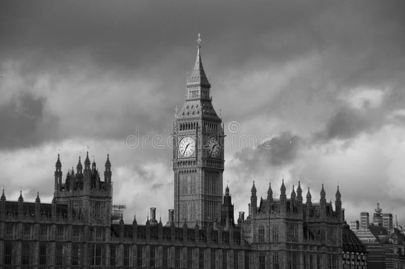 Big Ben i opactwo abbey zdjęcie royalty free