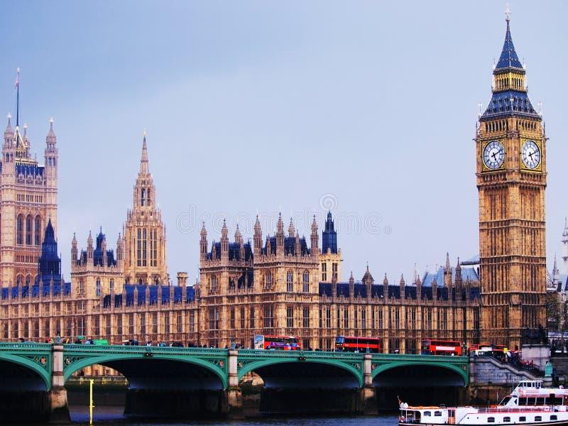 Big Ben i opactwo abbey, Londyn fotografia stock