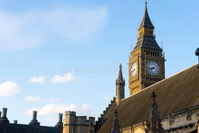 Big Ben i opactwo abbey w Londyn, Anglia zdjęcie stock