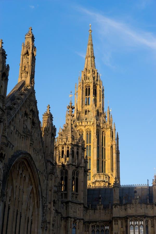 Big Ben i opactwo abbey w Londyn, Anglia obraz royalty free