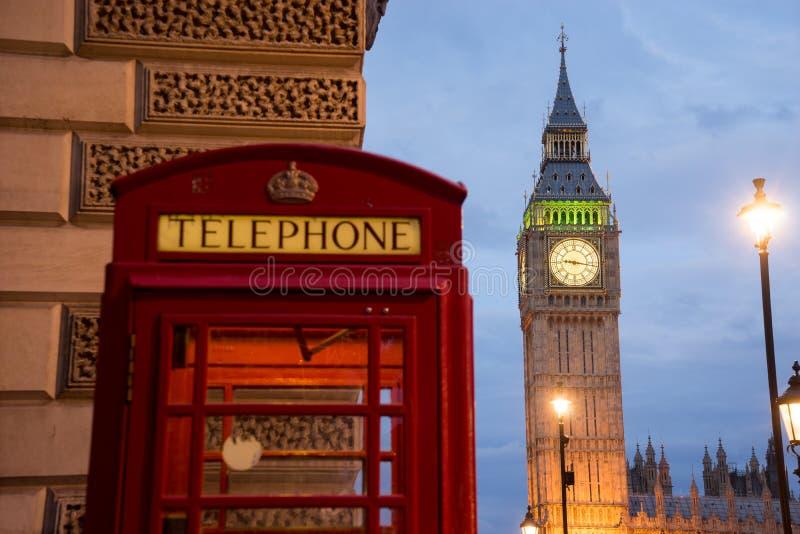 Big Ben i opactwo abbey w Londyn, Anglia obrazy royalty free
