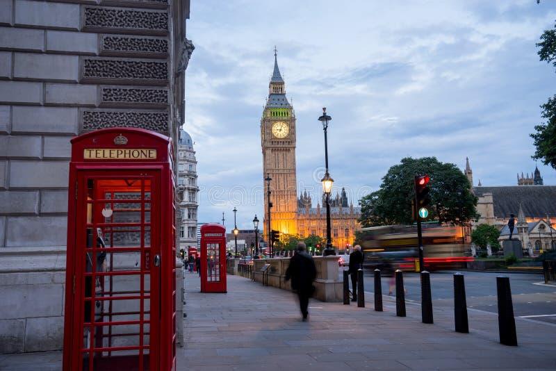 Big Ben i opactwo abbey w Londyn, Anglia zdjęcie royalty free