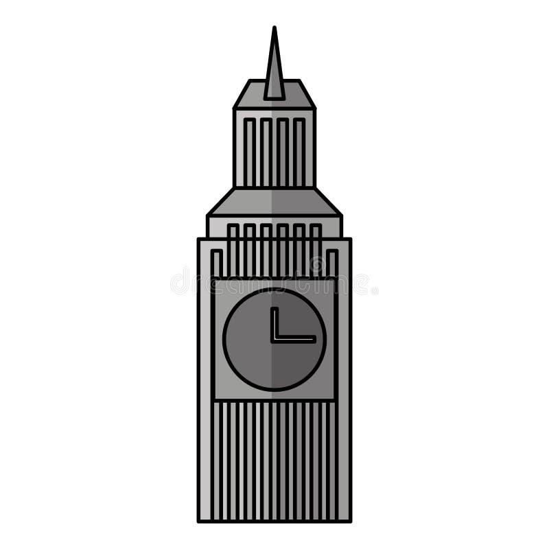 Big ben isolated icon. Illustration design vector illustration