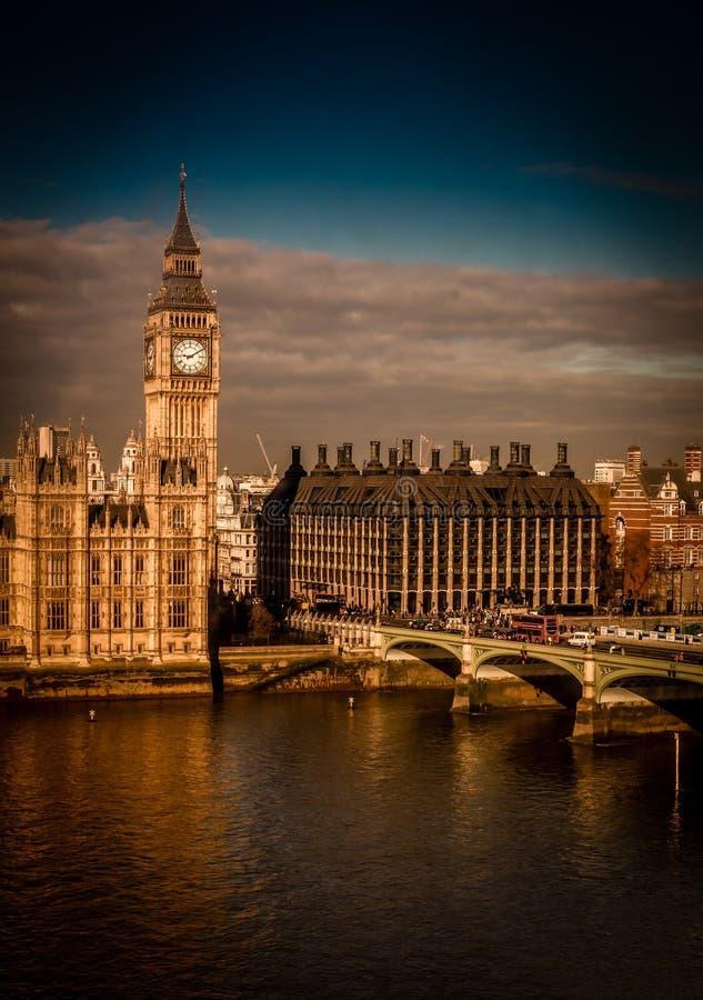 Big Ben klockatorn royaltyfria foton