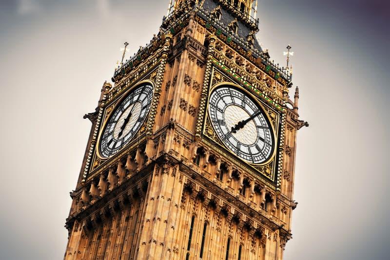 Big Ben, Londen, Engeland, het UK. royalty-vrije stock foto's