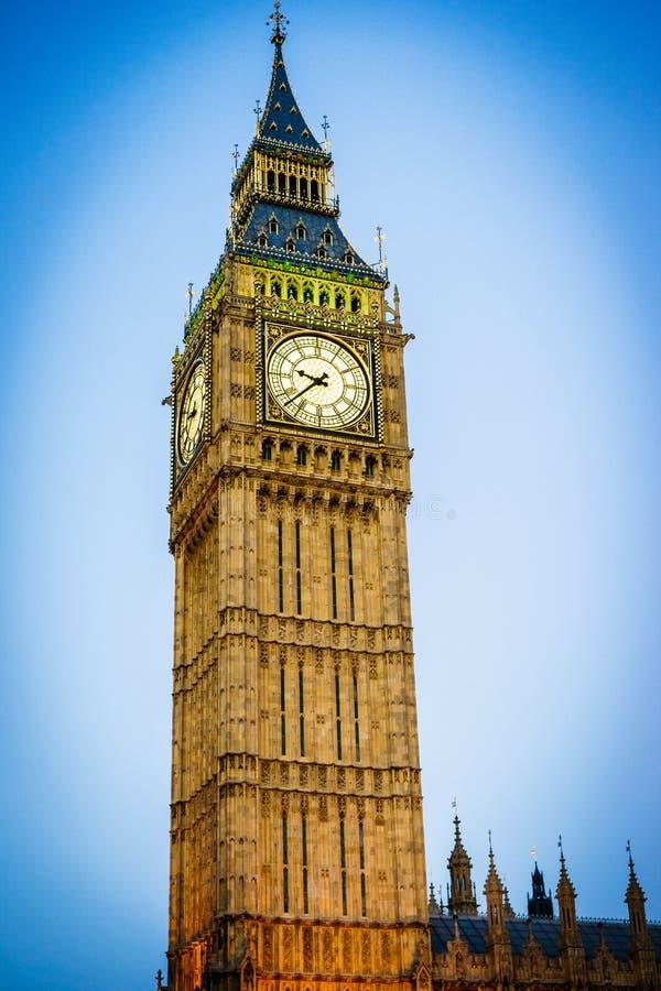 Big Ben, Londen, Engeland, het UK stock foto