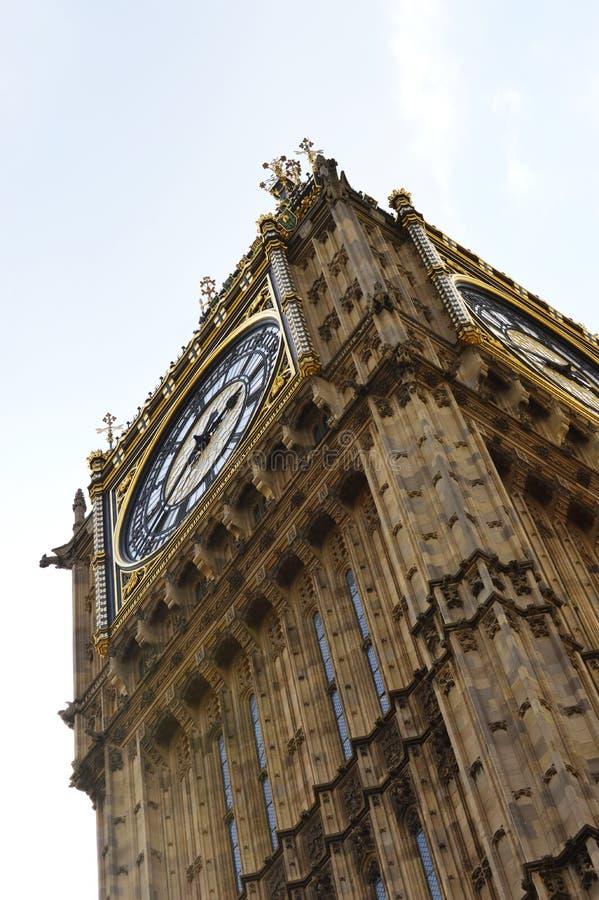 Big Ben, Londen, Groot-Brittannië royalty-vrije stock fotografie