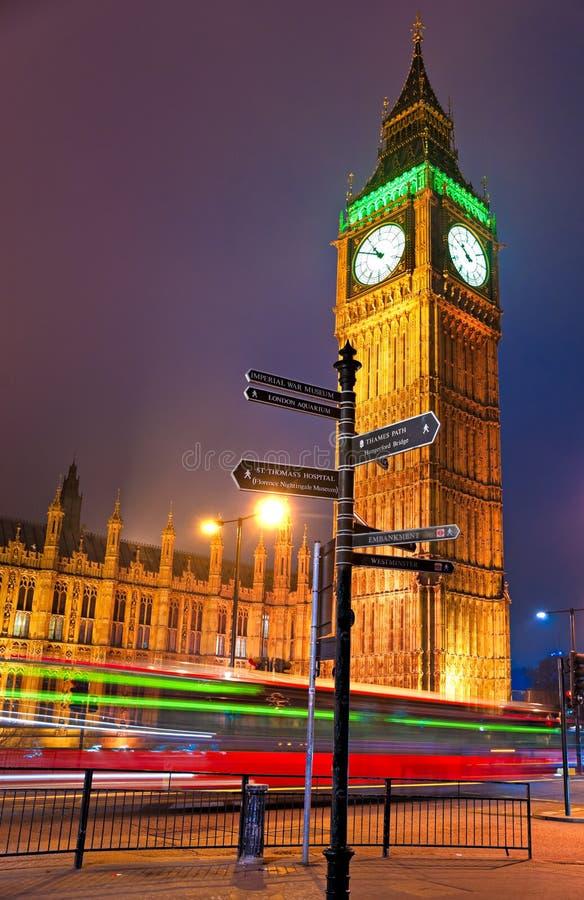 Big Ben, Londen, het UK. stock fotografie