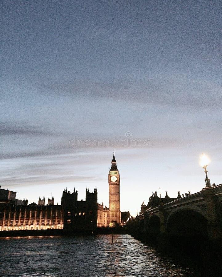 Big Ben, London stock image