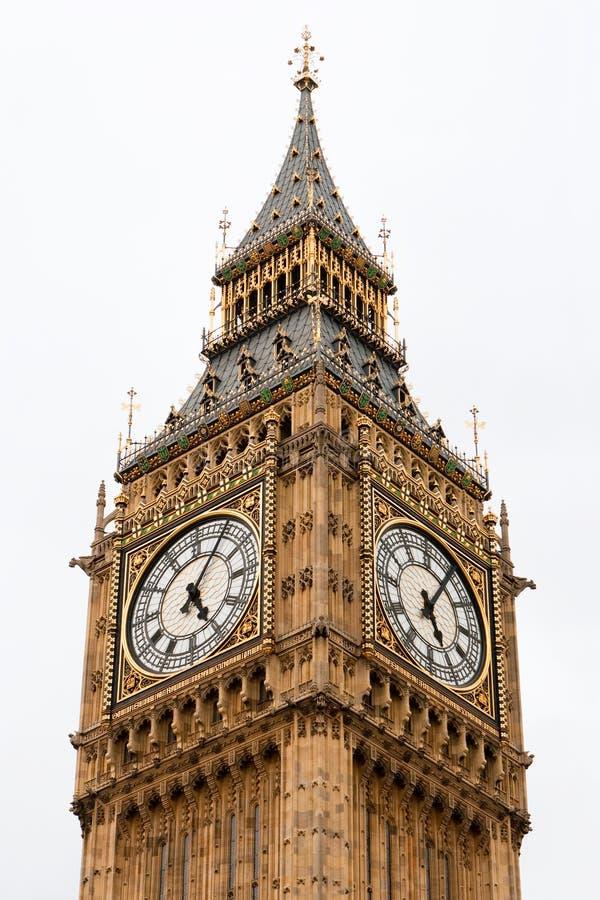 Big Ben. London. Big Ben - clock tower at the Houses of Parliament. London stock images