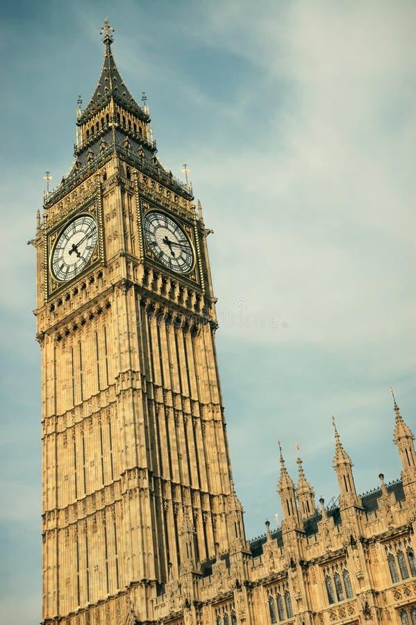 Big Ben in London royalty free stock image
